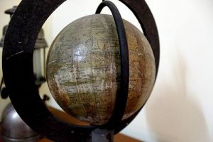 Archive-Globe--The-places-in-this-globe-are-all-marked-in-Bengali